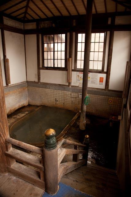 竹瓦温泉の中の様子