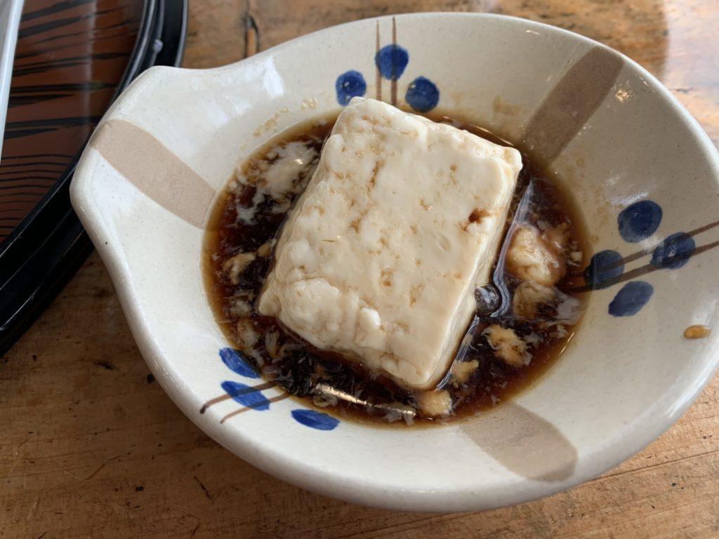 嬉野温泉の湯豆腐
