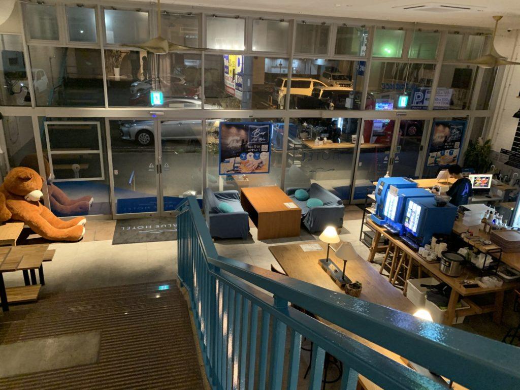 北九州のホテル【ARK BLUE HOTEL】は格安なのにオシャレすぎ
