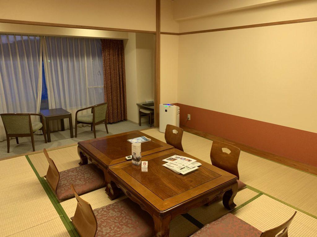 小豆島のホテルで断トツおすすめの理由②広々したお部屋